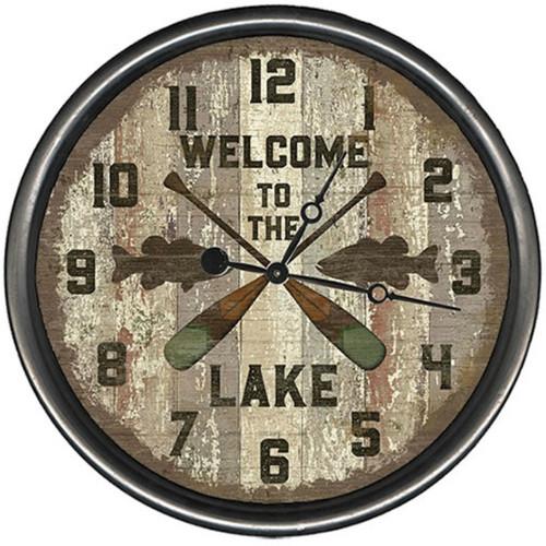 Lake Oars Clock - Custom