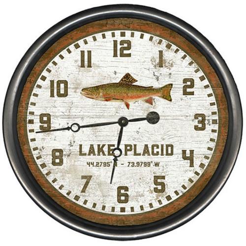 Lake Trout Clock - Custom