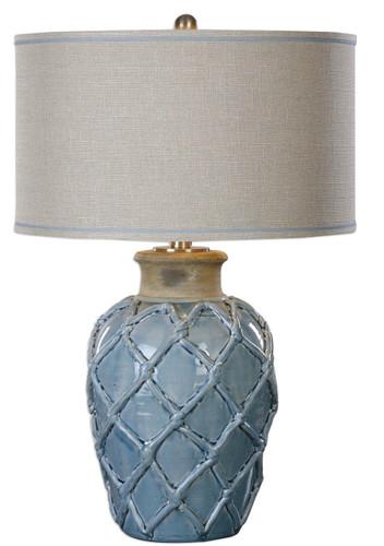 Parterre Pale Blue Table Lamp
