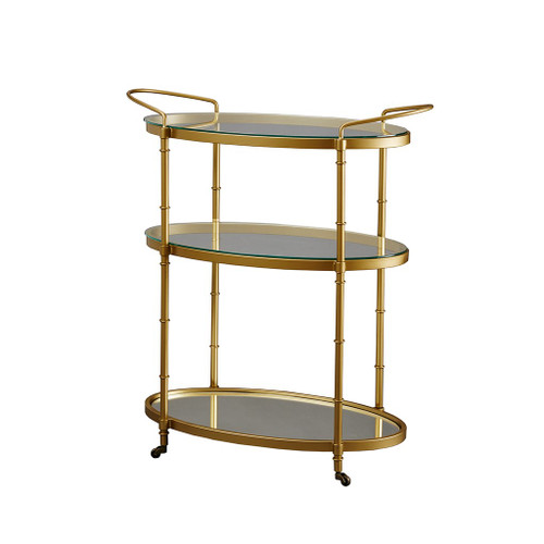 Lauren Gold Bar Cart