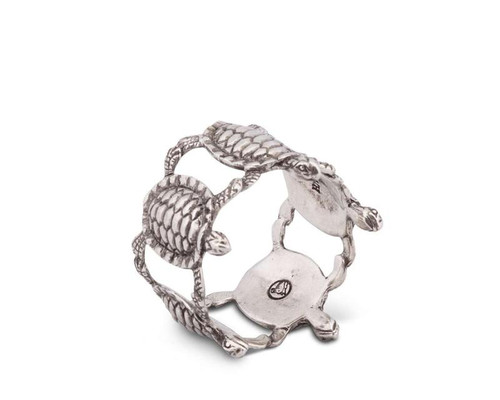 Sea Turtle Napkin Rings-Set of 8