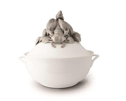 Marine Life Stoneware Soup Tureen