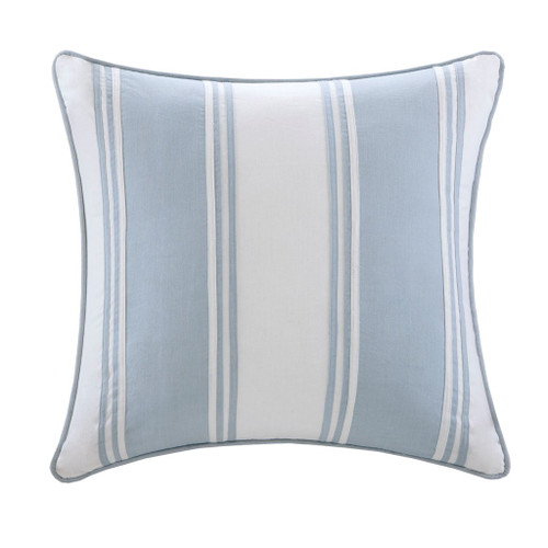 Crystal Beach Striped Pillow