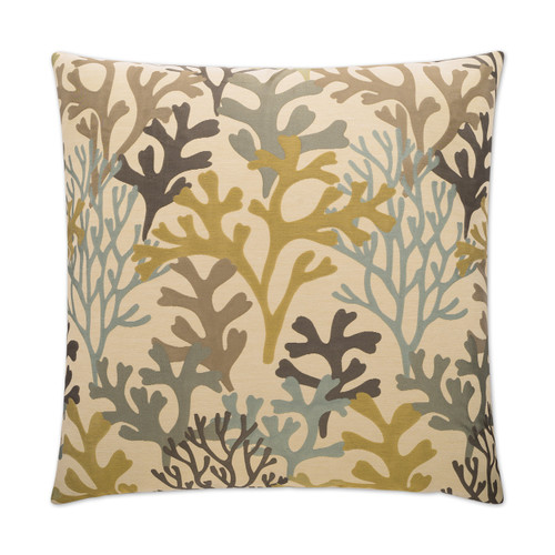 Bay Island Coral Beach House Pillow