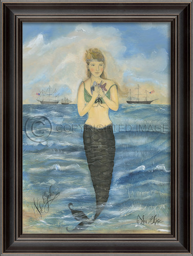The Gift Mermaid Wall Art