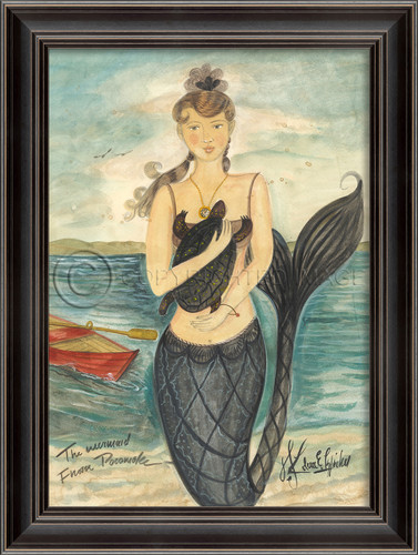 Mermaid from Pocomoke -Large Mermaid Art