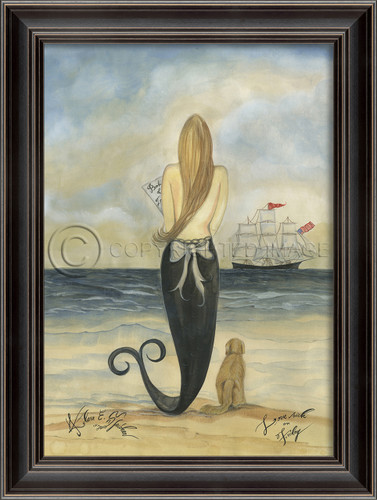Lovesick on Friday  - Mermaid Art Large