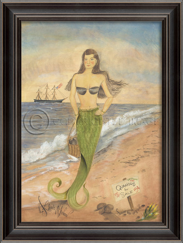 Sunrise on Surfside - Mermaid Art