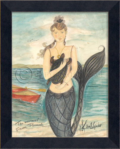 Mermaid from Pocomoke - Mermaid Art