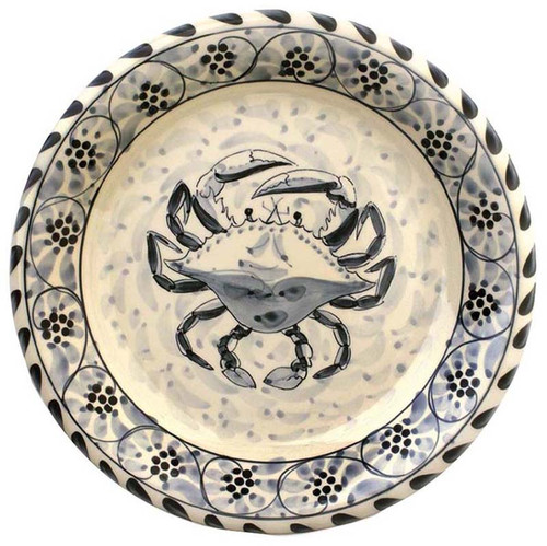 Blue Crab Bay Large Round Platter