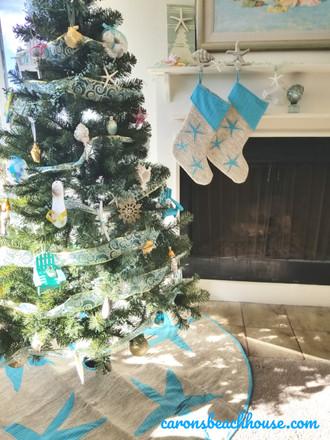 Amazing Coastal Christmas Trees