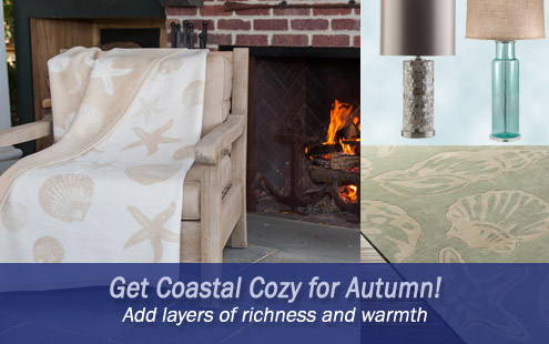 Get Coastal Cozy for Autumn!