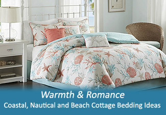 Nautical and Coastal Bedding Ideas