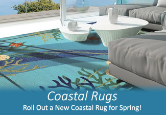 New Coastal Rugs for Spring