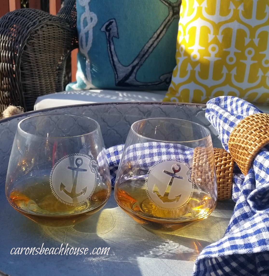 Anchors Aweigh For Spring Decor Caron S Beach House