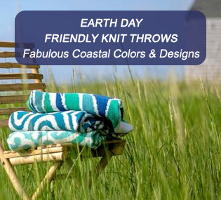 Earth Day Friendly Knit Throws