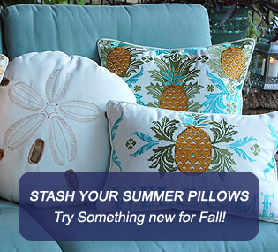 Fall Coastal Pillows