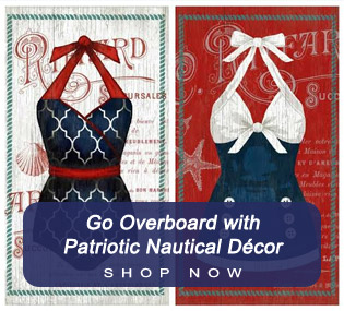 Patriotic Nautica Decor