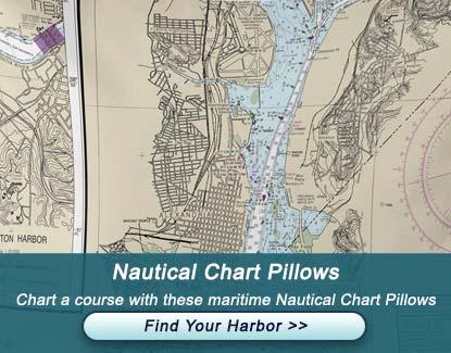 Nautical Chart Pillows