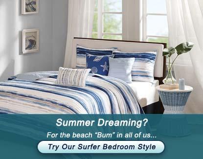 Summer Dreaming Surfer Bedroom
