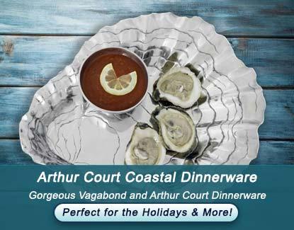 Arthur Court and Vagabond Coastal Dinnerware Sale