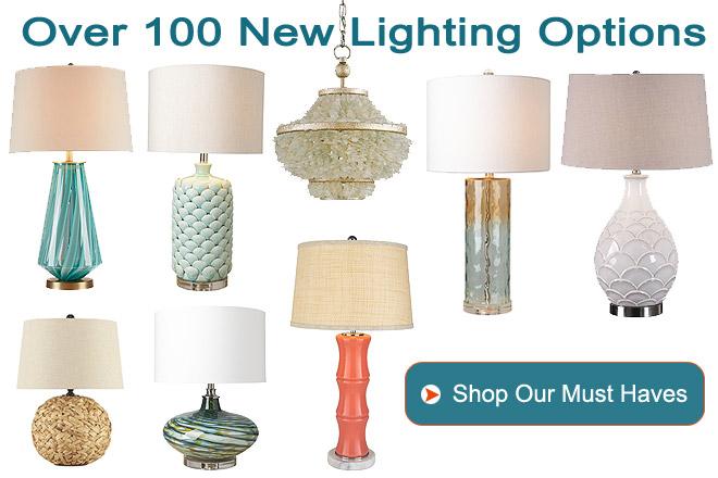 Over 100 New Lighting Options!
