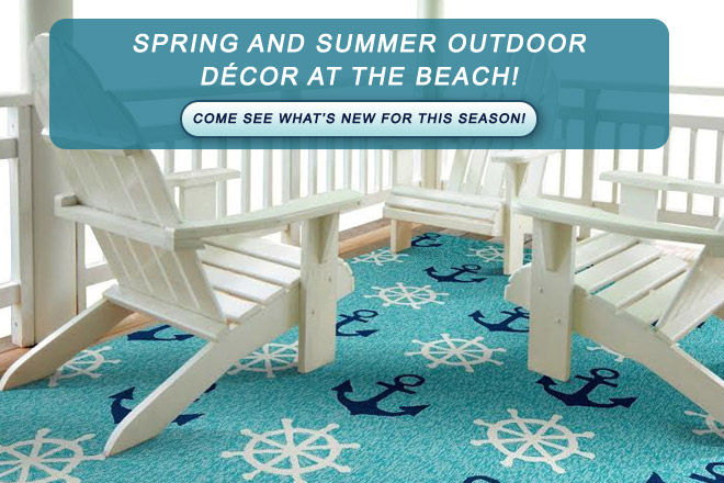 Spring and Summer Outdoor Décor at the beach!