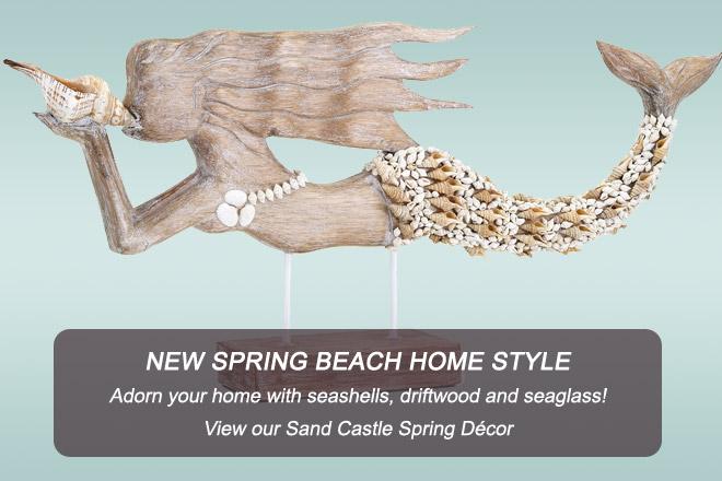 Sand Castles Spring Decor