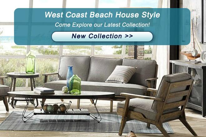 west coast beach house style