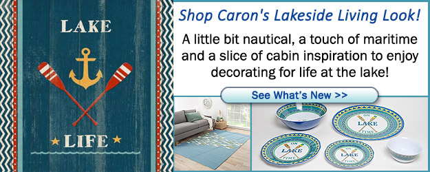 Lake and Cabin Home Decor