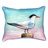 Royal Tern Beach House Pillow