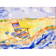 Summer Beach Chair Floor Mat