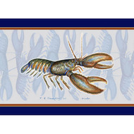 Blue Striped Lobster Placemats - Set of 4