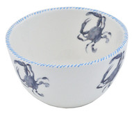 Blue Crab Soup Bowls - Set of 6