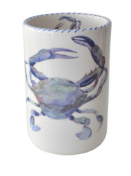 Blue Crab Wine Bottle Holder
