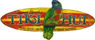 Tiki Hut Tropical Sign