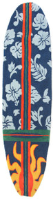 Surfboard Rug Hawaiian Navy Blue