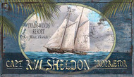 Trade Winds Sailing Art Sign