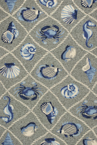 Harbor Seaside Grey Rug