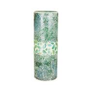 Seafoam Mosaic Pebble Vase