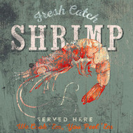 Fresh Catch Shrimp Art