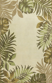 Paradise Border Luxury Rug