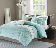 Phoebe by the Sea Aqua Comforter Set - King Size