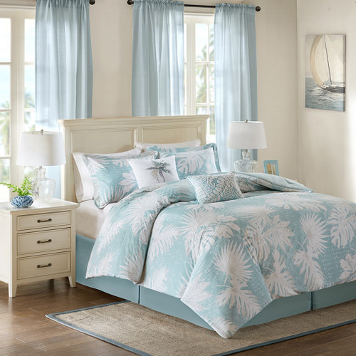 Sea Palm Grove Comforter Set King Size