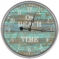 On Beach Time Clock - Custom