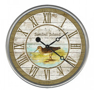 Sandpiper Beach House Clock - Custom