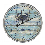 Blue Crab Clock - Custom