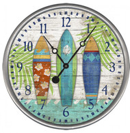 Bright Surfboards Clock - Custom