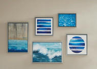 Water Tide 5 Piece Gallery Wall Art Set