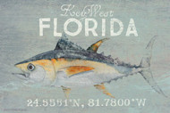 Deep Sea Tuna Custom Beach House Sign